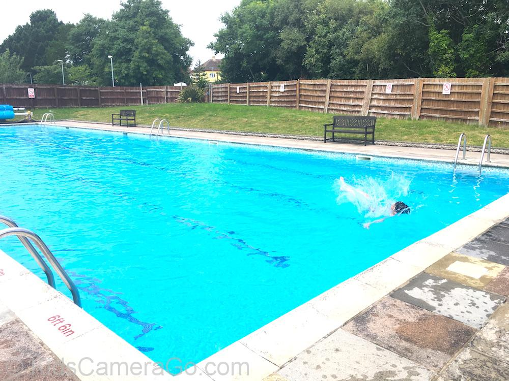 Dartmouth open air swimming pool